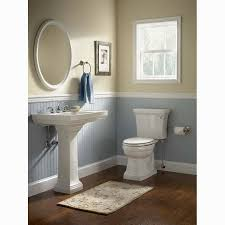 chair rail in bathroom gallery image and wallpaper