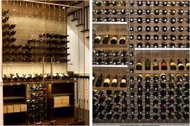 metal racking for san antonio contemporary home wine cellars