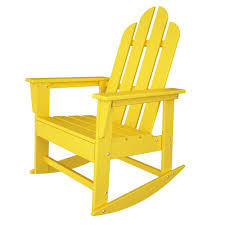 Recycled Plastic Rocking Chairs Island Recycled Plastic Adirondack Rocking Chair