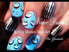 easy water droplet nails 3d raindrop nail art design tutorial