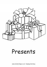 love christmas presents coloring pages christmas presents