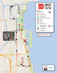 Bike Map Chicago by Course Information Participant Guide Chocolate 15k 5k Chicago