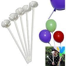 balloon sticks balloon sticks 72 pieces white plastic balloon sticks