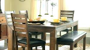 dining room with bench seating bench for dining table with a back awesome dining room tables with