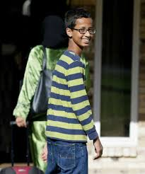 Obama Cool Clock by Teen Clock Creator Ahmed Mohamed Drops In On Google Sfgate