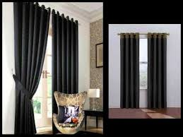 Black Curtain Black Curtains Window Panels Valances U0026 Curtains Youtube