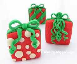 christmas present cookies u2013 happy holidays