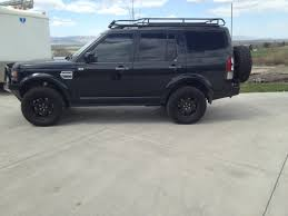 black land rover discovery 2017 black lr4 build 18