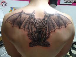 back tattoos ideas 11 awesome gargoyle back tattoos ideas