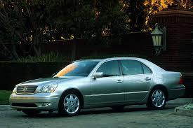 lexus ls 430 2001 lexus ls 430 overview cars com