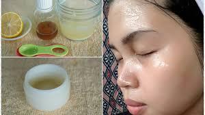 cara membuat wajah menjadi glowing secara alami cara membuat cream malam sendiri dari bengkoang memutihkan secara