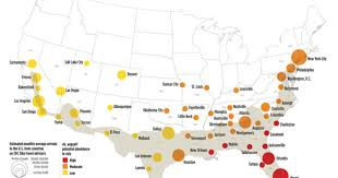 map of us cities mosquitoes could spread zika in dozens of u s cities cbs news
