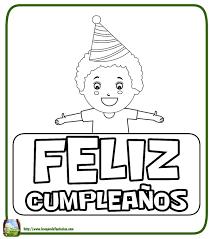 imagenes tiernas y bonitas de cumpleaños para halloween 99 dibujos de feliz cumpleaños tarjetas para colorear y pintar