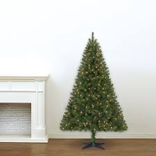 6 ft pre lit green windham spruce artificial tree