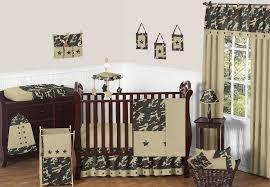 sweet jojo designs camouflage green collection 11 piece crib