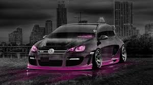 volkswagen pink volkswagen golf tuning crystal city car 2014 el tony