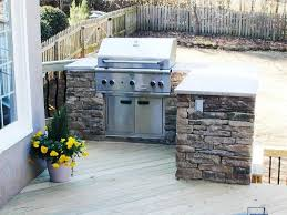 Outdoor Kitchen Cabinet Kits by Outdoors Brick Outdoor Kitchen Kits With Grill At Poolside How