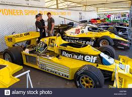 renault rs01 1977 renault rs01 and 1983 renault re40 in the paddock at the 2013