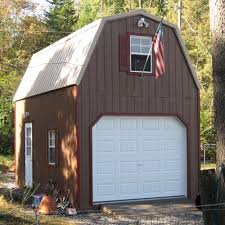 gambrel style roof 2 story garages