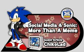 Sonic The Hedgehog Meme - social media sonic more than a meme source gaming