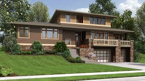100 home plans for sloping lots mascord house plan 23106