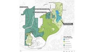 Washington Park Map by Washington Park Master Plan Update Place Studio Llc