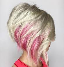 short hairstyles with peekaboo purple layer 100 mind blowing short hairstyles for fine hair pink peekaboo