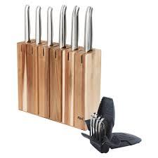 furi pro segmented knife block set 8 piece