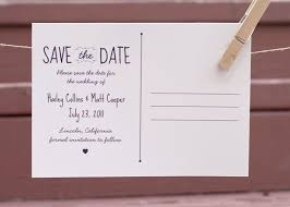 save the date postcard save the date postcard back wedding stationary
