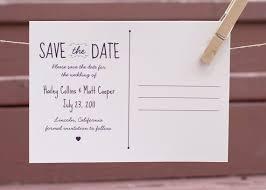 postcard save the date save the date postcard back wedding stationary