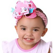 headband online buy large boutique birthday cupcake hair bow clip or baby headband