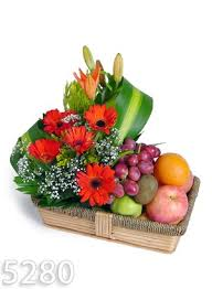 fruit and flowers hanukkah flowers and gifts