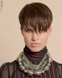 short haircuts above ears short above the ears haircut and bangs with longer textured tips