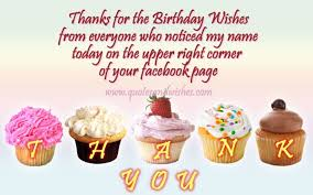 Happy Birthday Thank You Quotes Thank You Birthday Wishes Daily Quotes Of The Life