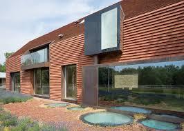 contemporary barn house tile cover contemporary belgian barn house by pascal françois