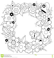 christmas wreath coloring pages free advent page pdf bow holding