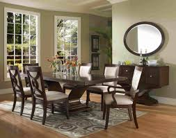 dining oval wall mirror design ideas with dining room sets and