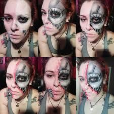 terminator makeup cosplay amino