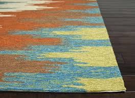 red and teal area rug black grey rugs awesome neat modern on blue