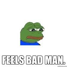 Green Man Meme - sad frog feels bad man meme collection 1 mesmerizing universe