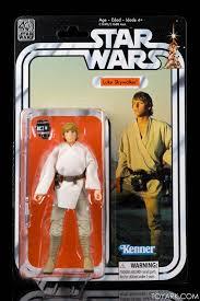 star wars 40th anniversary black series vintage packaging in