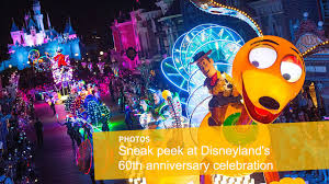 what to expect for disneyland u0027s 60th anniversary celebration la