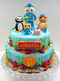 octonauts cake topper birthday cakes images octonauts birthday cake marvelous and