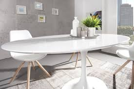 esstisch oval ovaler tisch weiß hochglanz konferenztisch weiß oval esstisch