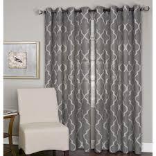 decor dark color 108 inch long length curtains idea
