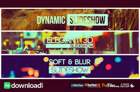 slideshow pack 3 in 1 videohive project free download free