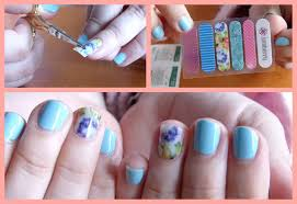 jamberry nail wraps demo first impressions review youtube