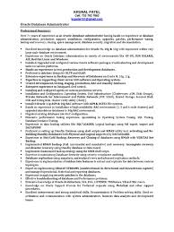 Oracle Applications Consultant Resume Download Oracle Dba Resume Oracle Dba Resume Sample Oracle Dba