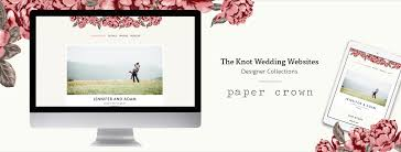 knot wedding website free designer wedding websites