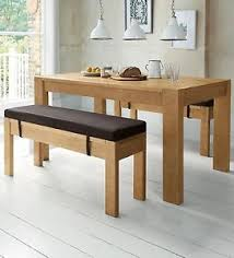 4 seater dining table with bench next kendall bench set solid wood 4 seater dining table benches x 2